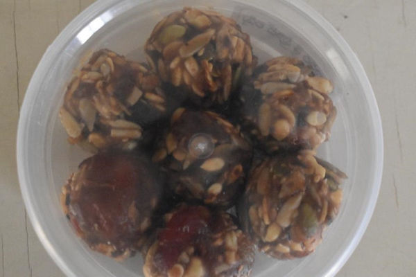 Picture of Dates Mixed Seeds & Nuts Balls
